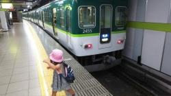 久々の京阪電車